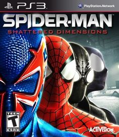Spider-Man: Shattered Dimensions by Activision Inc., http://www.amazon.com/dp/B003ESHRL0/ref=cm_sw_r_pi_dp_B2F1qb1CJM1S1