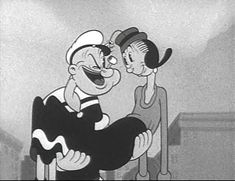 Popeye The sailor man walpaper The main character of the cartoon series is Popeye. Who is the sailor man. Popeye is a . Cartoon Cartoon, Popeye Cartoon, Cartoon Photo, Cartoon Characters, Cartoon Crazy, Vintage Cartoons, Classic Cartoons, Vintage Comics, Vintage Cartoon