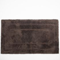 "Springmaid 21"" x 34"" Bath Rug Brown Black"