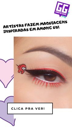 O impostor pode estar na sua maquiagem! Geeks, Makeup Looks, Geek Stuff, How To Make, Makeup Kit, Awesome Makeup, Painting Tutorials, Hair And Beauty, Cakes