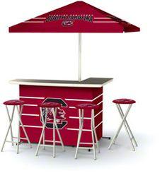 South Carolina Gamecocks Portable Tailgate Bar Set....pretty awesome!