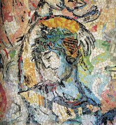 The Message of Odysseus (Le message d'Ulysse) Marc Chagall, 1967 Faculté de Droit et des Sciences économiques de l'Université, Nice, France Wall mosaic, 91 x 25 cm