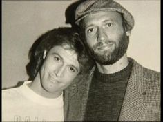 Andy and Maurice Gibb