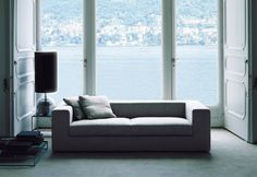 Wall sofa bed by Piero Lissoni - Living Divani Stylish Sofa, Sofa Bed Design, Sofa, Bed, Mattress Springs, Sofas, Bed Wall, Bed Base, Sofa Bed Living
