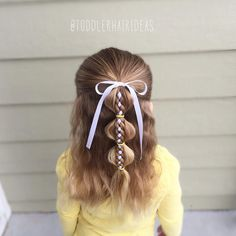 See this Instagram photo by @toddlerhairideas • 439 likes