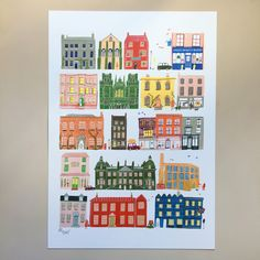 A3 street printPrinted on beautifully textured paper stock.It is signed and…