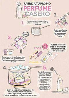 El perfume que podrás personalizar con la fragancia que quieras. | 12 Productos de belleza que puedes hacer en casa sin problema