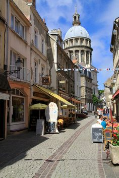 My first trip out of England was to - Boulogne-sur-Mer, France