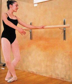 wall mounted ballet barre. Wall Mounted Adjustable Ballet Barre | McKenna Christmas Pinterest Barre, Mount And Walls