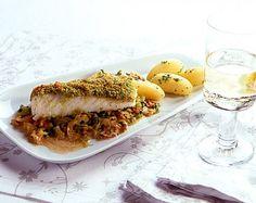 Rezept für Kabeljau mit Petersilienkruste bei Essen und Trinken. Ein Rezept für 4 Personen. Und weitere Rezepte in den Kategorien Fisch, Gemüse, Kräuter, Milch + Milchprodukte, Schwein, Hauptspeise, Backen, Braten, Kochen.