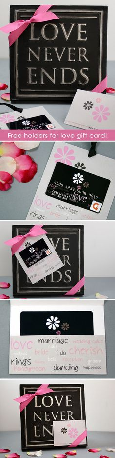 an easy way to make a wedding gift card more personal is to attach it to