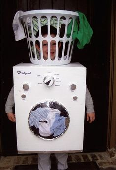 Washing Machine costume - from LJWorld #halloweencostumes