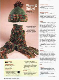 Crochet World 12-2007 - kosta1020 - Picasa Web Albums
