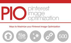 Do you want your Pinterest images to stand out and get repinned? With more than 12 million users posting pictures to the image-based social network, it's important to make sure images grab the attention of fellow Pinterest users. A properly optimized pin can make all the difference between 50 repins or no repins.  This infographic gives you information to optimize every pin you post.  Give these tips a try... http://www.loyaltepays.com/forwardsteps/li/14514/