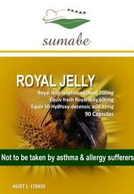 Sumabe Royal Jelly 600mg, 90 Softgel Capsules