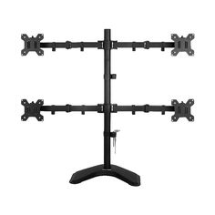 Viotek Articulating Adjustable Quad Arm Monitor Mount Stand VESA VTMS4X #Viotek