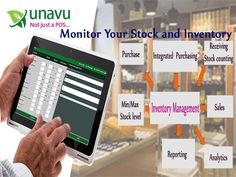 #UnavuApp stock and #inventory management module helps you keep a tight control on the stock, and works to prevent wastage and theft. http://unavuapp.com/blog/inventory-and-stock-management