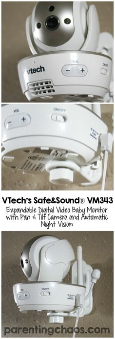 The VTech VM343 Video Baby Monitor is exactly what my family had been looking for!