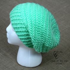 Ravelry: Round Slouchy Hat pattern by Cream Of The Crop Crochet - FREE  CROCHET PATTERN