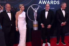 On February 27, 2018, Prince Albert II and Princess Charlene attended award ceremony of 2018 Laureus World Sports held at Sporting Club in Monaco. The Laureus World Sports Awards is an annual award ceremony honouring individuals and teams from the world of sports along with sporting achievements throughout the year.