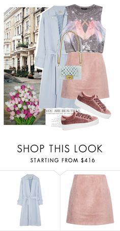 """Untitled #1983"" by ivonce ❤ liked on Polyvore featuring Miu Miu, Temperley London, Acne Studios, Forever 21, Chanel and Steve Madden"