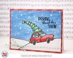 Dashing through the snow | Yainea for Avery Elle