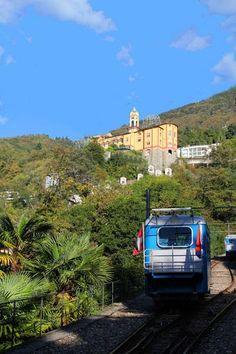 Funicolare e Madonna del Sasso, Switzerland