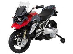 Moto Elétrica Infantil BMW GS 1200 - Biemme com as melhores condições você encontra no Magazine Estrelasouza. Confira!