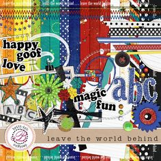 This was my first Disney Digital Scrapbooking Kit.  I have used it a bunch of times and I still love it.