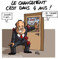 Bilan de François Hollande après 1 an… pas fameux !