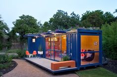 Micro-living has recently gained popularity due to affordability and sustainability. See six of the coolest tiny houses made out of shipping containers.