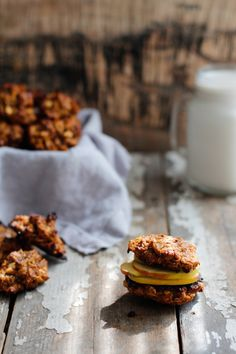 Nutrition Stripped | Oatmeal Raisin and Apple Sandwich Cookies | http://www.nutritionstripped.com