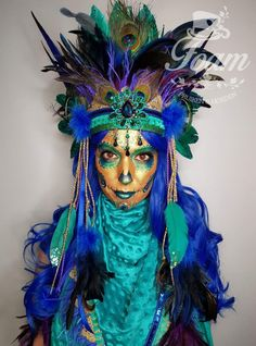 You are in the right place about DIY Costume last minute Here we offer you the most beautiful pictures about the DIY Costume christmas you are looking for. When you examine the part of the picture you Festival Caps, Edm Festival, Costumes For Work, Boy Costumes, Sugar Skull Makeup, Clown Makeup, Music Festival Fashion, Festival Outfits, Creative Eyeliner