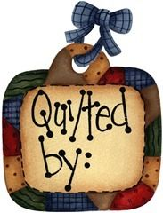 imagem decoupage clipart  Tag Quilted By