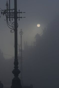 Misty Moonlit night......wish I knew where this photo was taken!