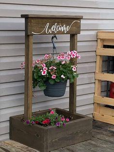 Backyard Projects, Outdoor Projects, Garden Projects, Diy Planters, Planter Boxes, Woodworking Projects Diy, Diy Wood Projects, Diy Garden Furniture, Wooden Crafts