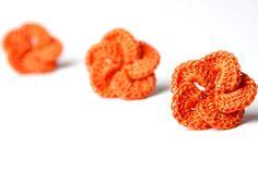 Crochet Pattern Hibiscus Flower   Digital file PDF