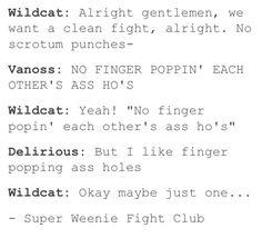 Super Weenie Fight Club|BBS
