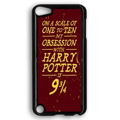 Harry Potter Movie Poster Barely There iPod Touch 5 Case