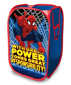 Spider Man Pop Up Hamper
