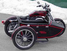 trans-moto, side-car, sporster, transformation kit Harley-Davidson