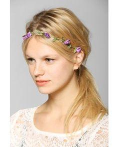 Little Roses Flower Crown Headwrap