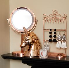 Rose gold is THE colour your dressing table needs for an instant uplift. #NewLook #Homeware