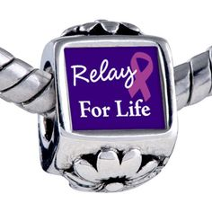 Silver Plated  Pugster Relay for Life by DelightfulDaisyness, $5.99