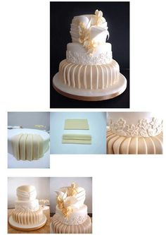 Frosting draping