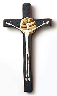Mosaic cross, christian art