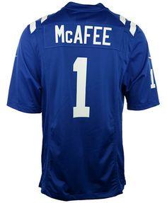 Nike Men's Pat McAfee Indianapolis Colts Game Jersey | macys.com