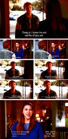 The Middle. Ha! Loved this part.