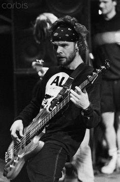 Jeff Ament Playing the Bass