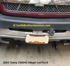 2012 Chevy 2500HD Meyer EZ Plus Mount installed. Truck had